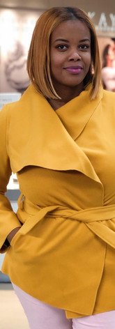 mustard wrap jacket