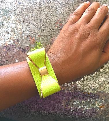 Neon Bow Bracelet