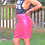 Thumbnail: Berry Sequin Pencil Skirt