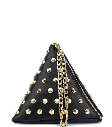 Triangle Studded Bag