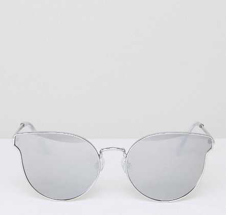 Silver Frameless Shades