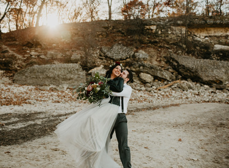 Lake Texoma Elopement // Texas Wedding Photographer // Heather Buckley Photography