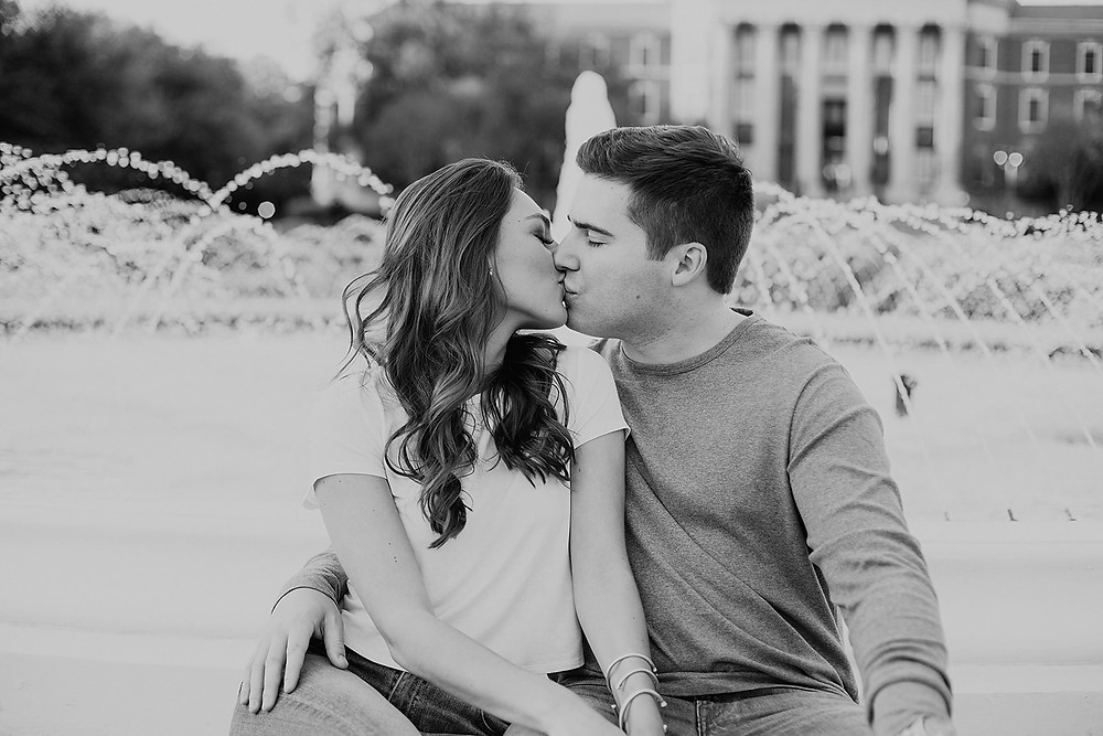 SMU, Kappa alpha theta, southern methodist university engagement session, Dallas engagement session, Dallas wedding photographer, smu .