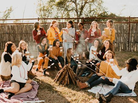 Fall Photoshoot// HBP Senior Model Team