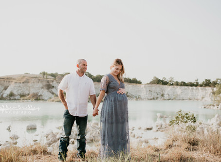 Joe + Jordain | Maternity Session | Mckinney Photographer