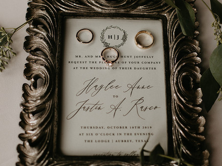 THE SPRINGS EVENT WEDDING VENUE // Haylee + Justin // Aubrey Tx