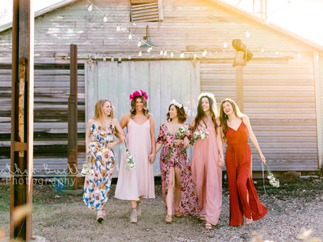 '18 Senior Models | Boho Theme | Mckinney Senior Photographer