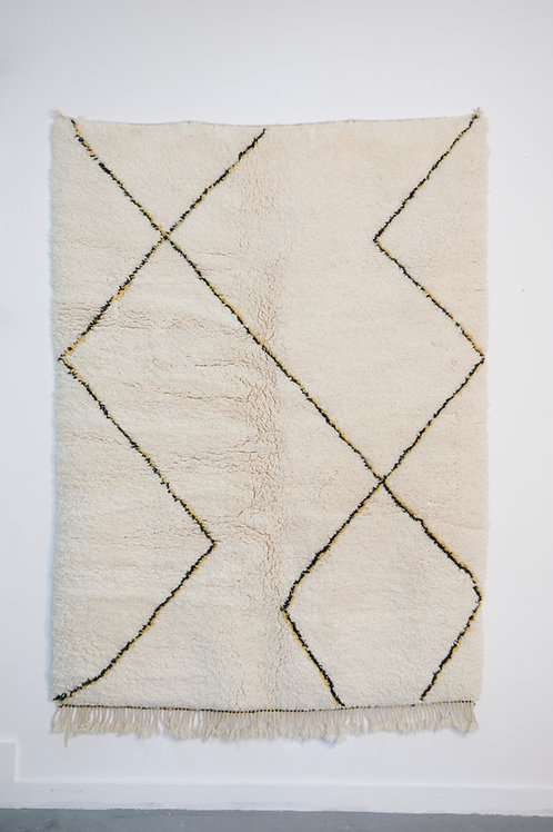 Tapis berbère coloré abstrait