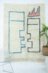Un exemple de tapis berbère moderne
