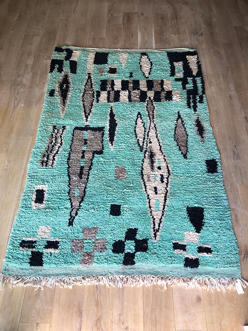 Tapis berbère coloré 225x150cm