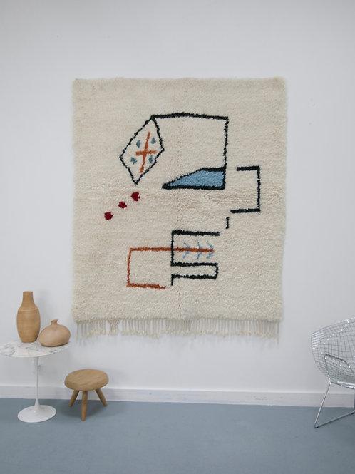 Tapis berbère contemporain