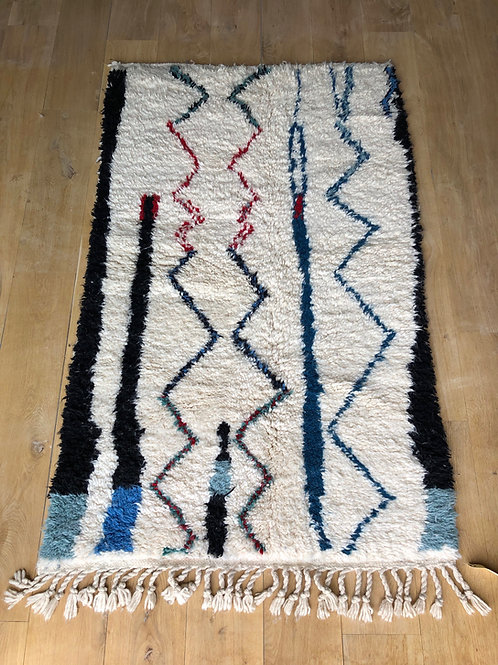 Tapis berbère coloré 150x100 cm