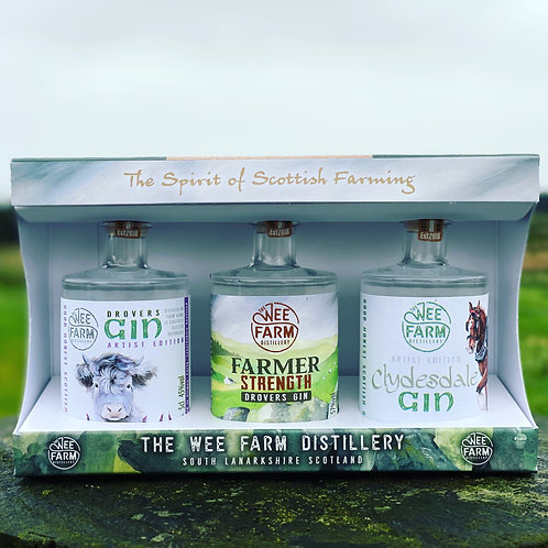 Gin Taster Pack  The Spirit of Scottish Farming