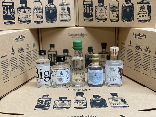 Lanarkshire Gin Alliance Taster Box