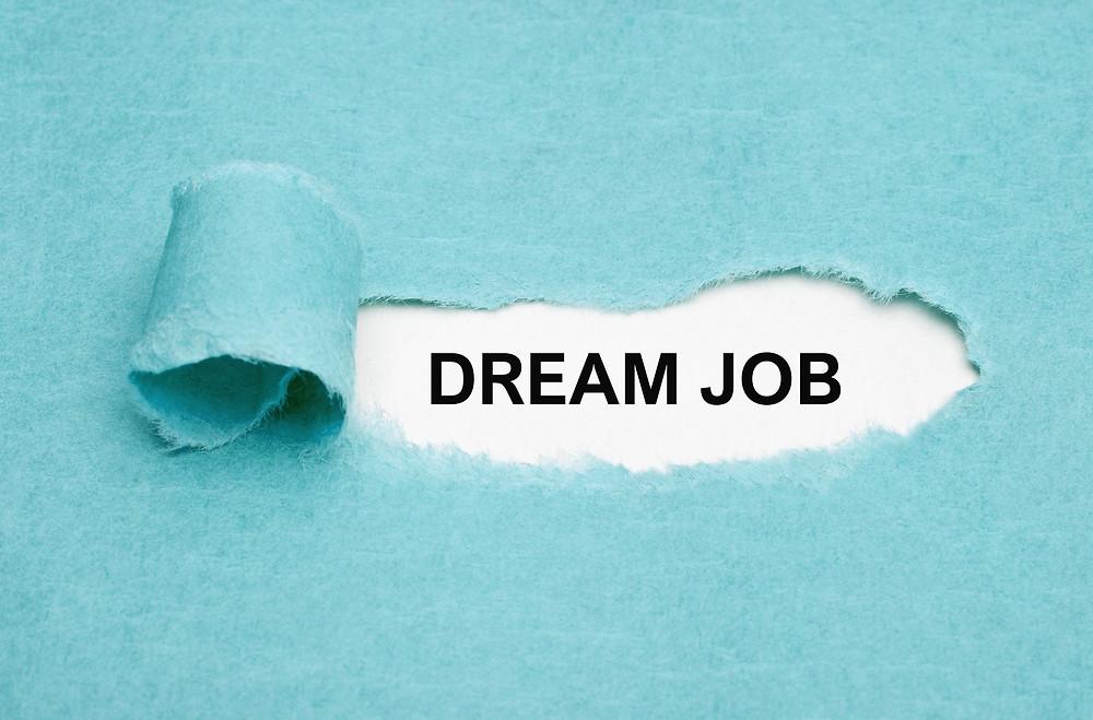Land Your Dream Job Concept