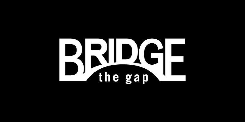 BRIDGEthegapロゴ