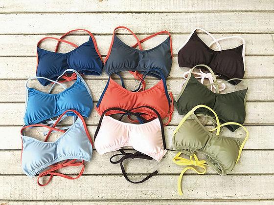 22-20 Bikini Top Plain & plainCombi