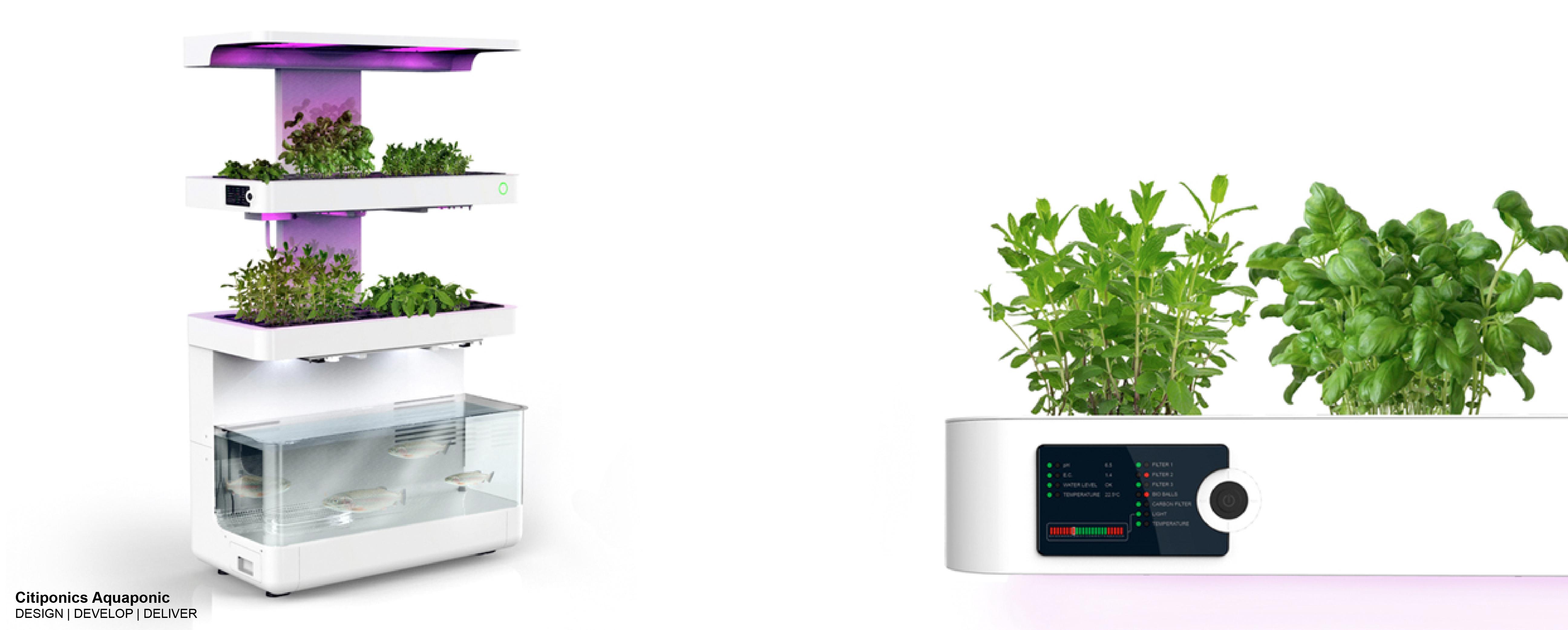 Aquaponic garden system