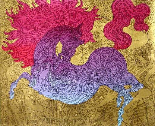 """Illutarted Horse"""