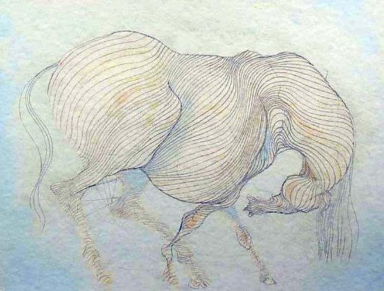 """Blue Horse"""