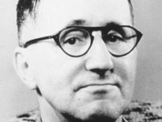 a short quote from Brecht