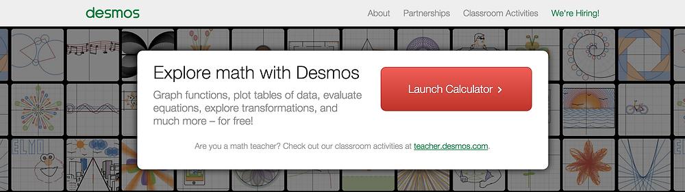 Desmos Classroom Technology Blog