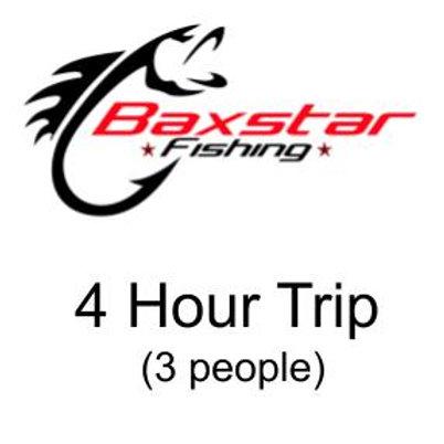 4 Hour Trip (3 people)