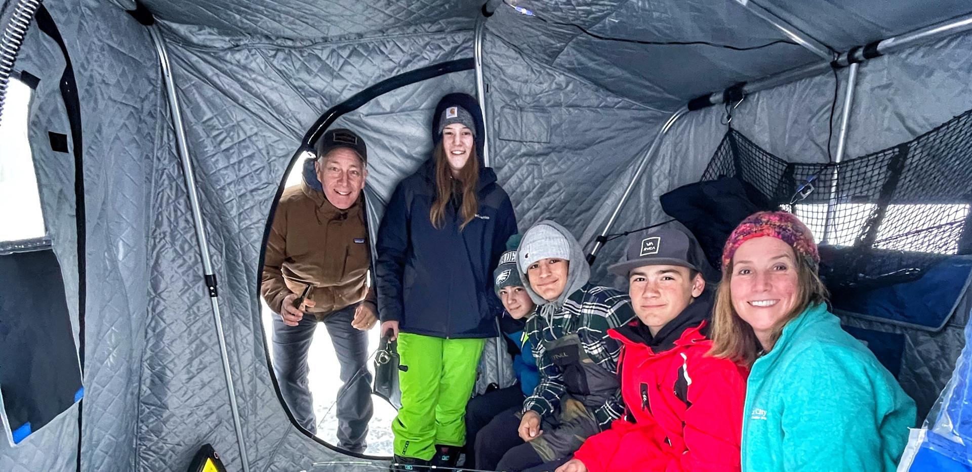 Baxstar Fishing Group Ice FIshing