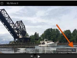 Narrow The Focus Of Your iPad's iMovies