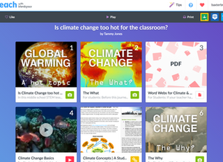 Pinterest Meets Google Classroom with TES Teach with Blendspace