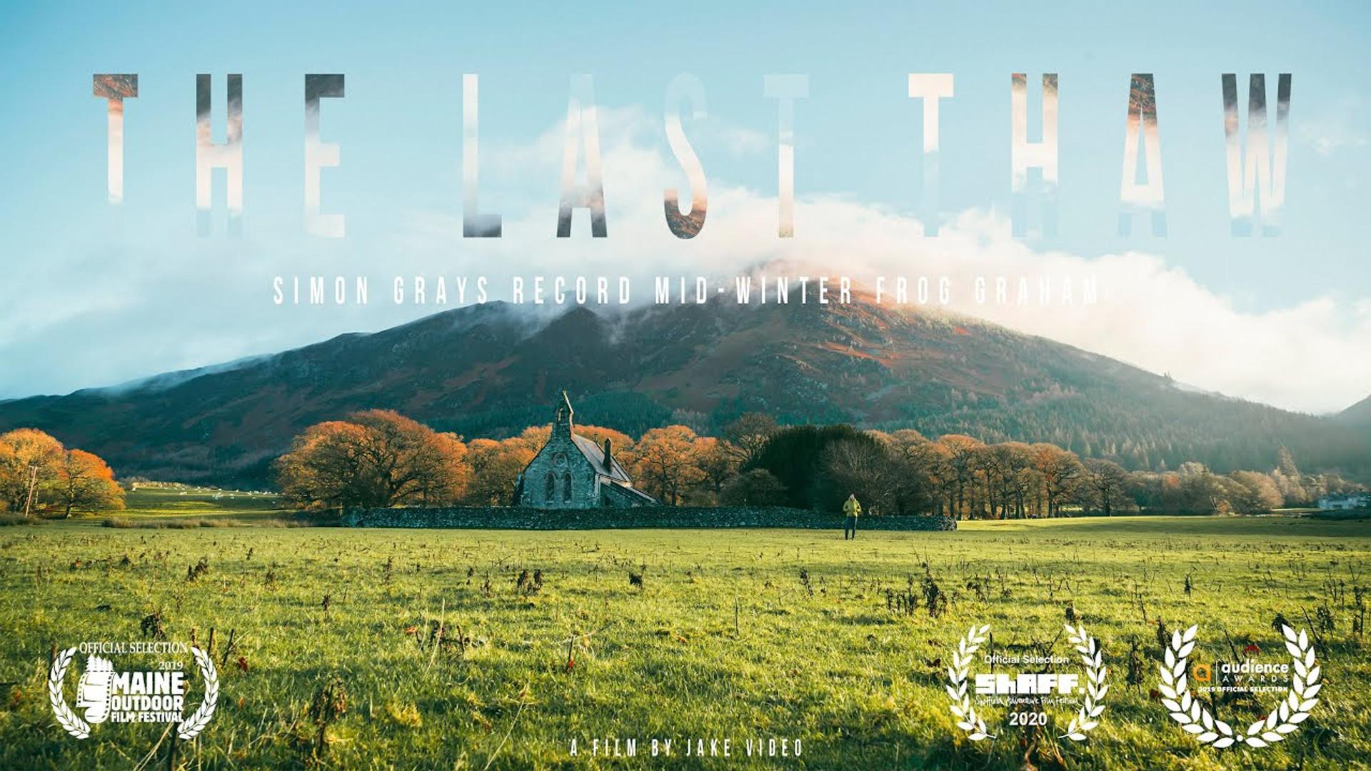 'The Last Thaw' Simon Gray's Mid-Winter Frog Graham Record
