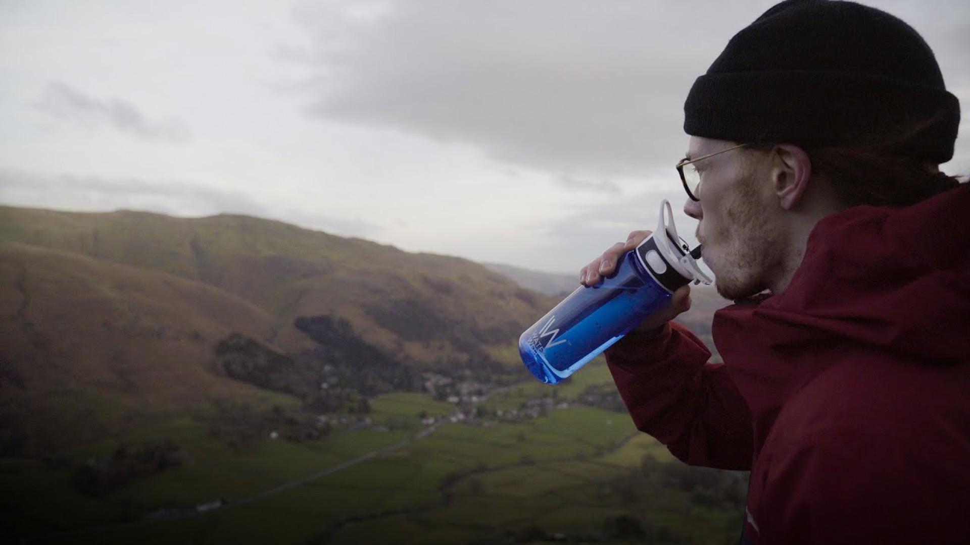 WaterWell Travel Filter Bottle