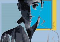 The Stare - Audrey Hepburn No. 1