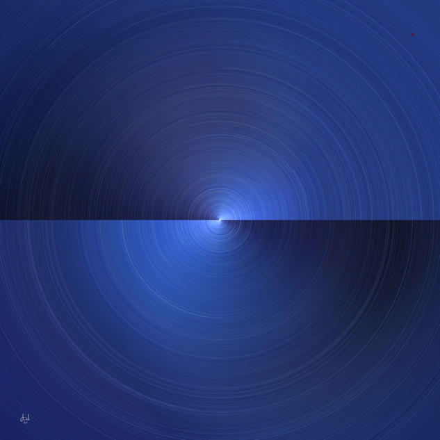 Momentum No. 3 in Blue