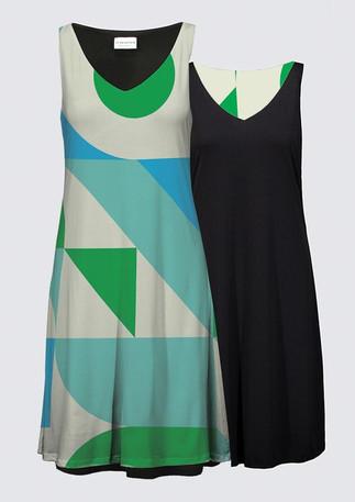 """A Modern Interpretation No. 2"" on a dress"