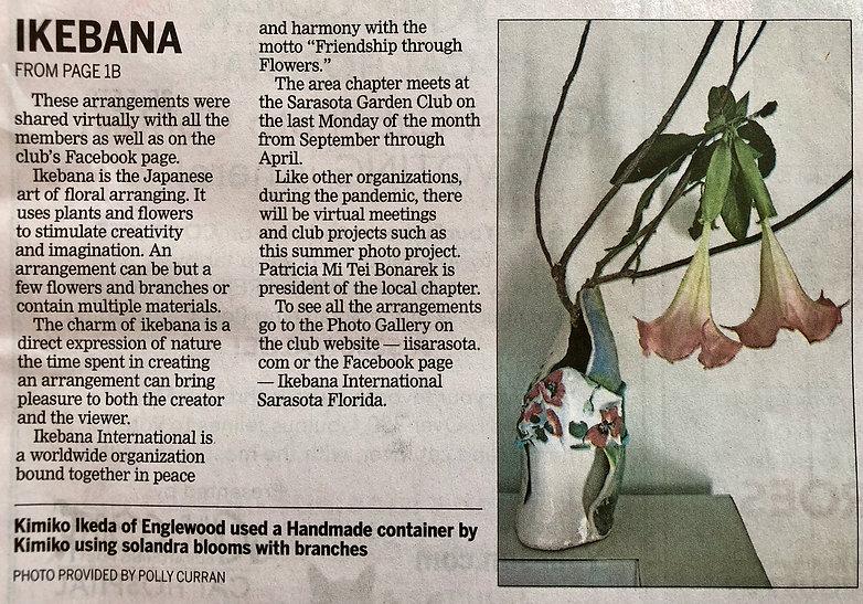Ikebana newspaper article, continued-1.j
