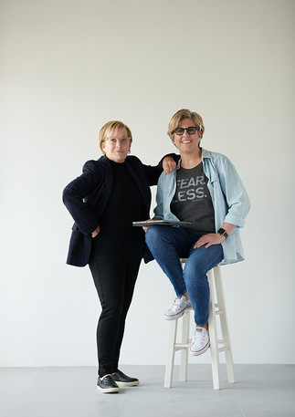 Diana and Wilma Davidson, Co-authors