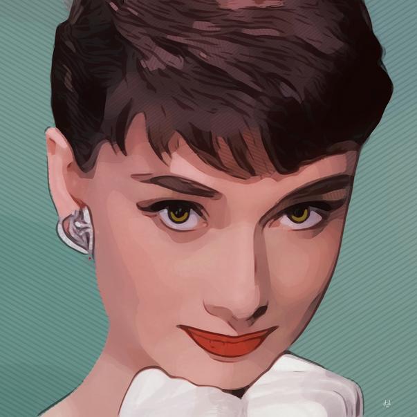 Sweet Audrey - Audrey Hepburn No. 2