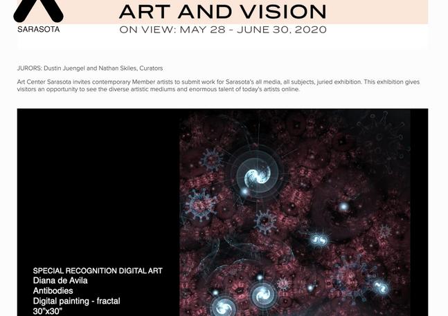 Antibodies - Special Recognition - Art Center Sarasota