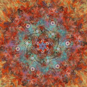Fractaling Pollock