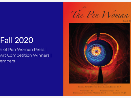 National League of American Pen Women - Cover Artist for The Pen Woman magazine