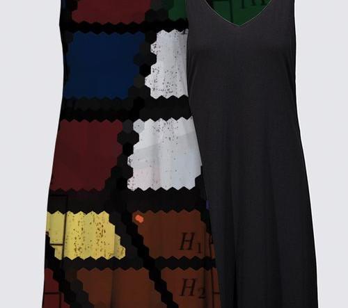 """""""Rubik's Algorithm"""" on a dress"""