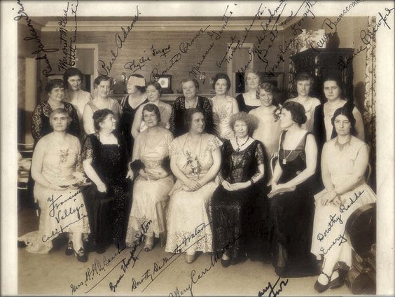 Composers from the National League of Pen Women - 1932