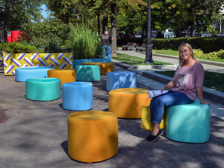 """Сад """"Гирлянда"""" на Открытом международном конкурсе городского ландшафтного дизайна «Цветочн"""