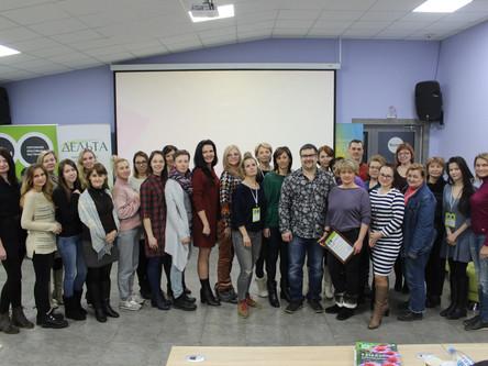 Проходим обучение на семинаре Оксаны Пискарёвой