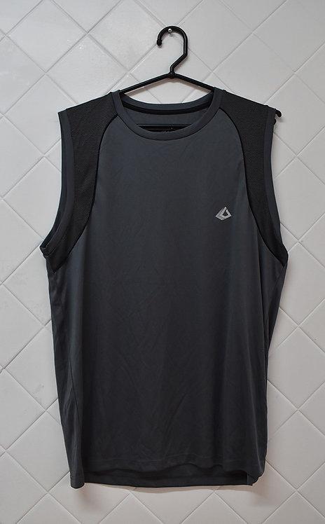 Camiseta Regata Masculina Cinza