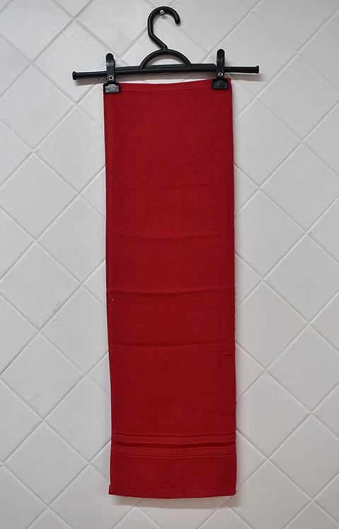 Toalha de Rosto Vermelha