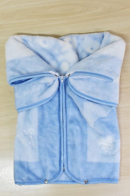 Porta Bebê Azul