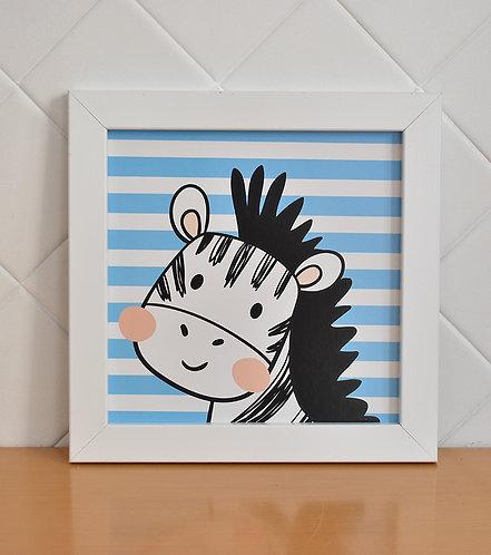 Quadro Decorativo Zebra