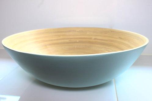 Saladeira de Bambu  Bowl Verde 25 cm